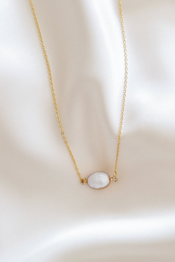 Audrey Pearl Necklace