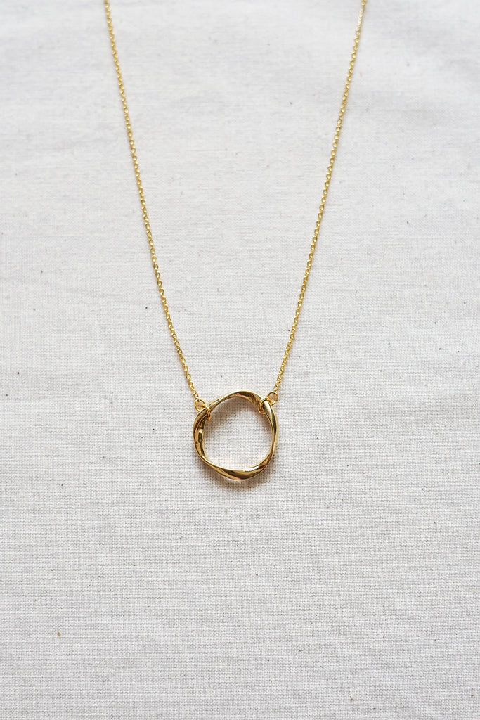 Twisted Loop Necklace