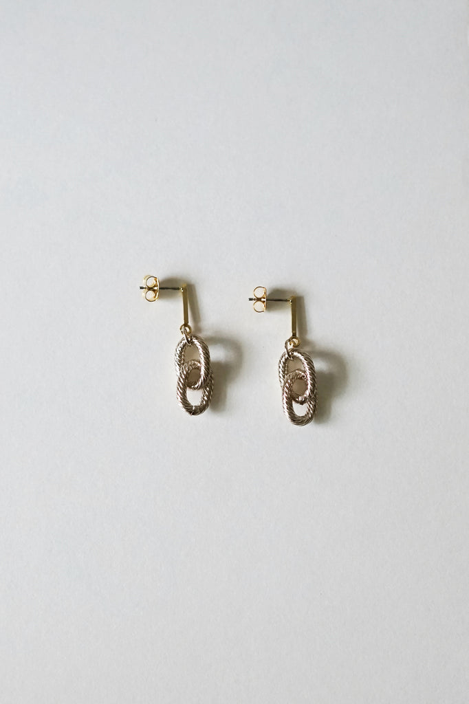 Infinity Bar Earrings