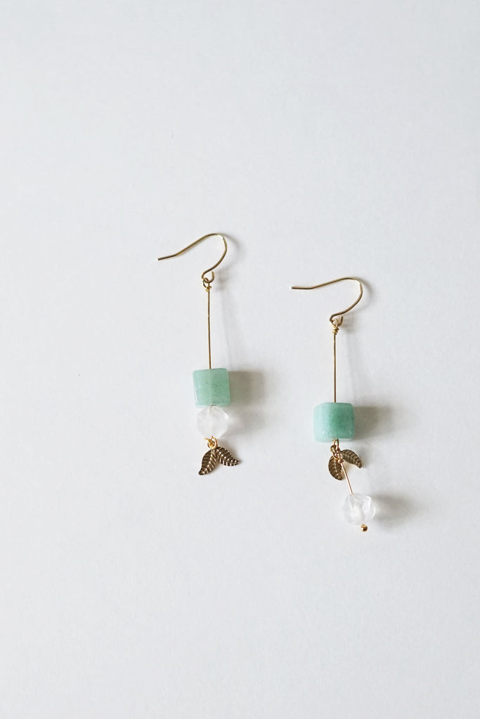 Kira Aventurine Earrings