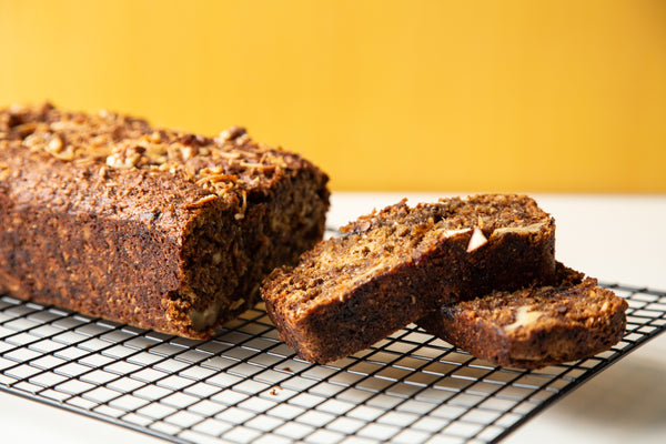 Protein Packed Banana Breakfast Loaf - with Cricket Flour
