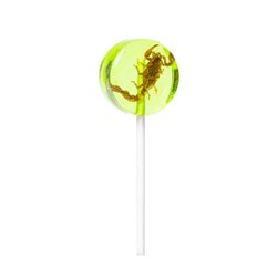 Green Apple Scorpion Lollipop 20g
