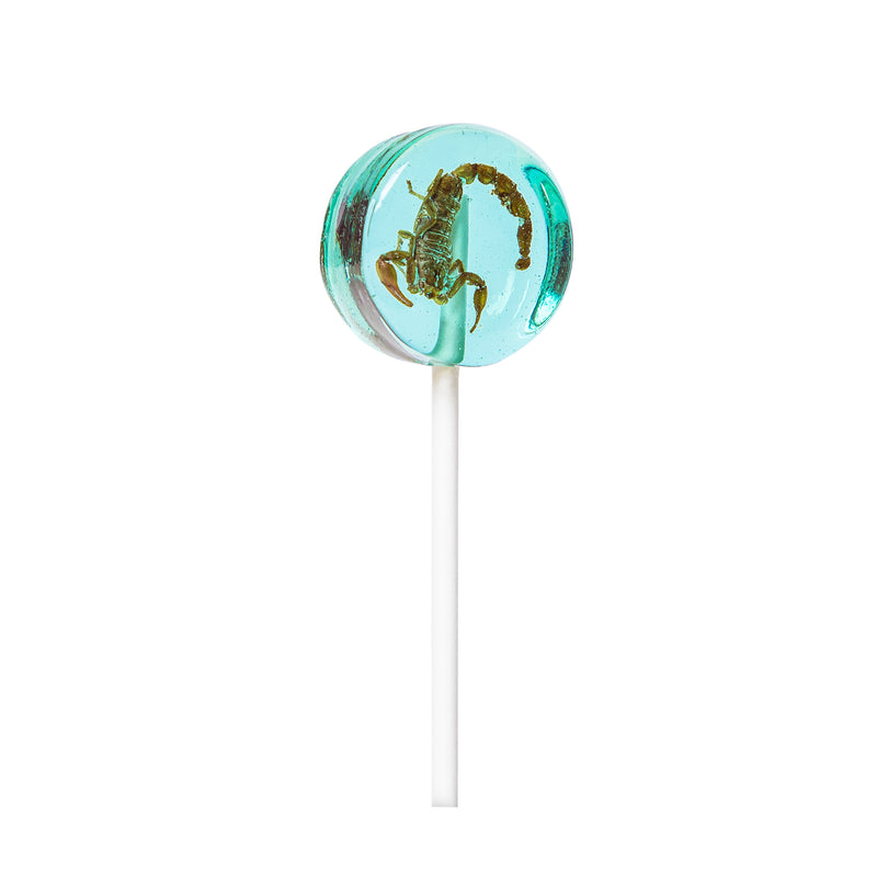 Blueberry Scorpion Lollipop 20g