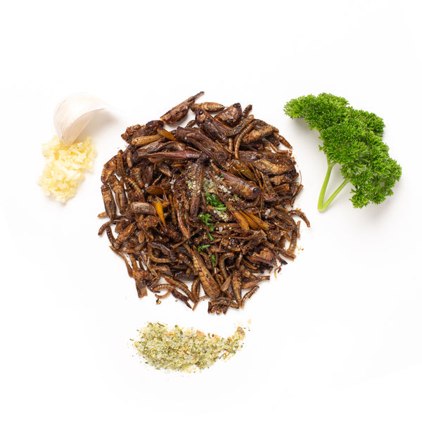 Garlic & Herb Insect Mixture 15g