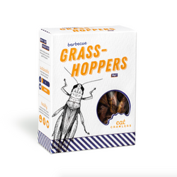 Barbecue Grasshoppers 10g