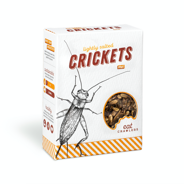 Lightly Salted Crickets 20g