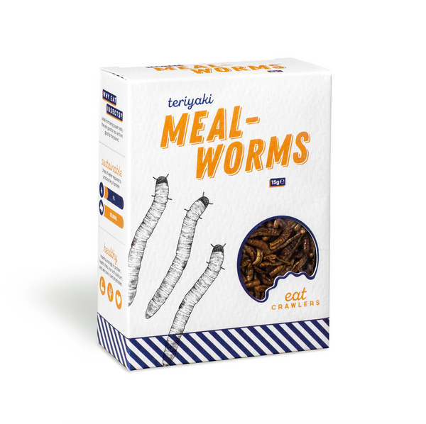 Teriyaki Mealworms 15g