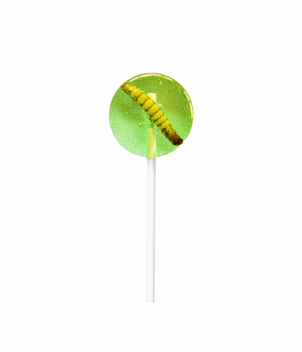 Green Apple Mealworm Lollipop 20g