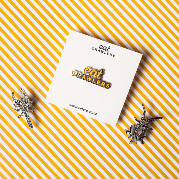 Cricket Enamel Pin