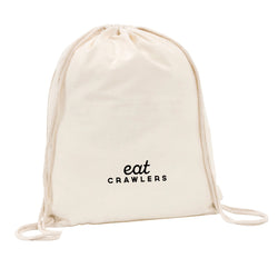 Eat Crawlers Drawstring Bag