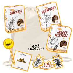 Eat Crawlers - Lightly Salted Gift Bundle