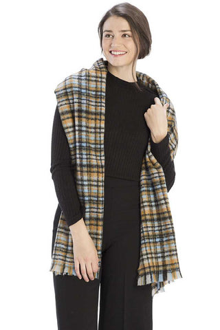 Colored Plaid Checkered Scarf - Shalaunie's Closet