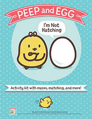 peep and egg activity kit