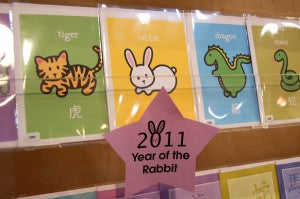 wanart booth nyigf year of rabbit card