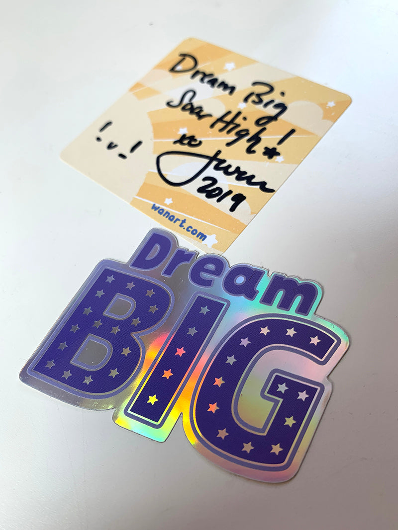 dream big stickers