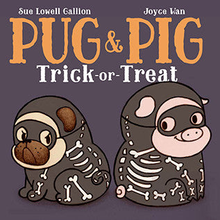 pug & pig trick or treat
