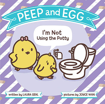 peep and egg potty