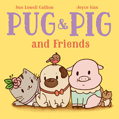 pug and pig friends book cover