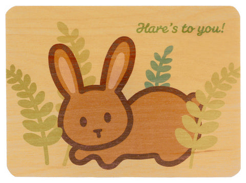 Rabbit Wood Card
