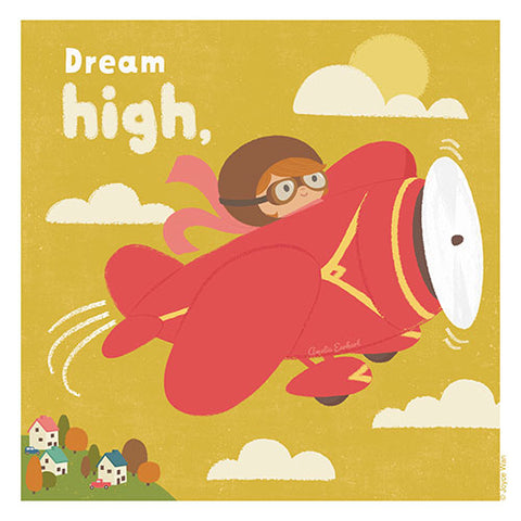 Print: Dream Big | Amelia Earhart