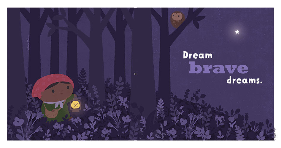 Print: Dream Big | Harriet Tubman