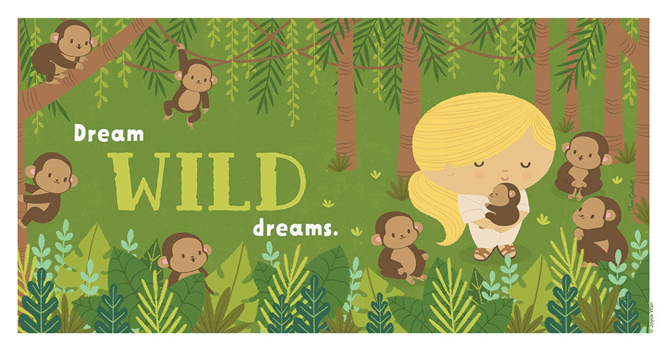 Print: Dream Big | Jane Goodall