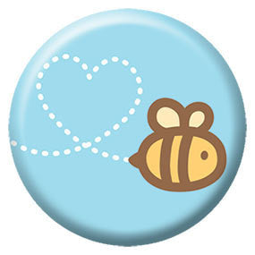 Bee Heart Button