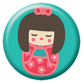Kokeshi Button