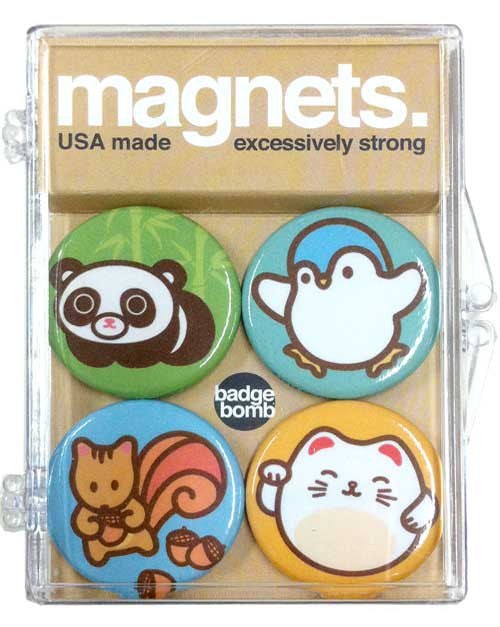 Cute Critters 4-PC Magnet Set