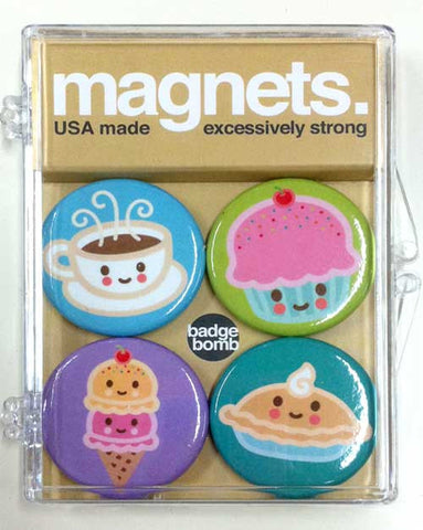 Guilty Pleasures 4-PC Magnet Set