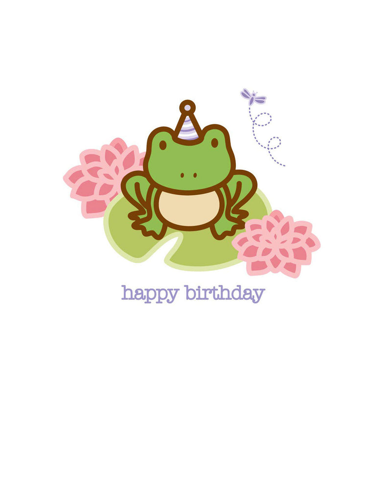 Toad Birthday Card