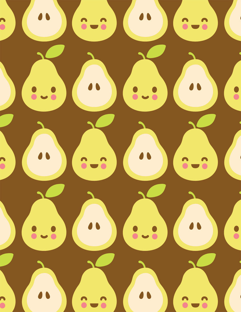 Happy Pears Note Card