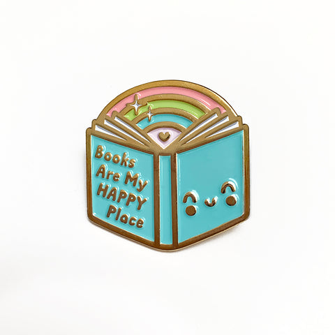 Book Rainbow Enamel Pin