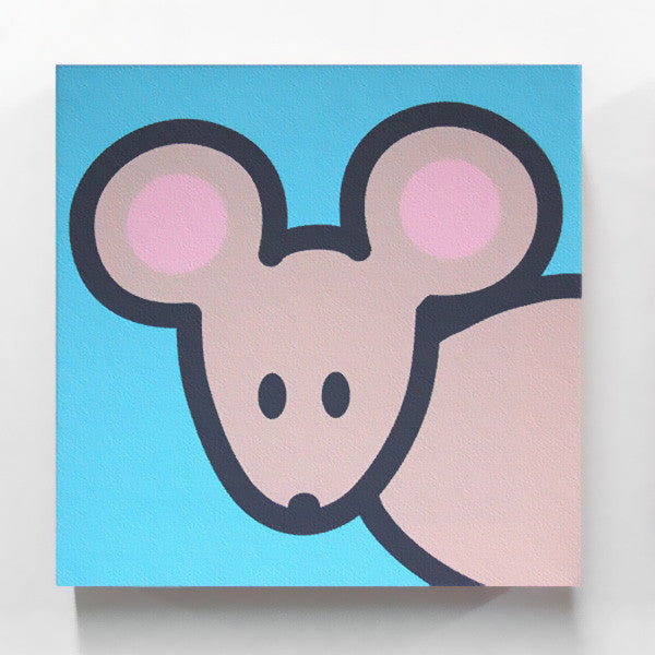 Gallery-Wrapped Zodiac Mouse Canvas Print