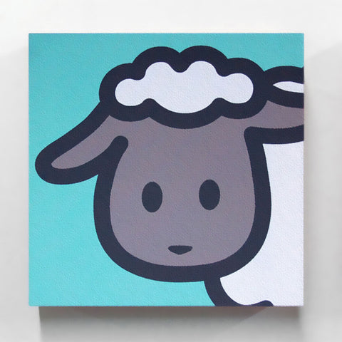 Gallery-Wrapped Zodiac Sheep Canvas Print