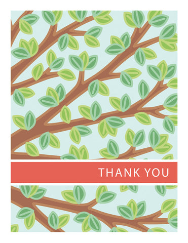 Branches Thank You Card