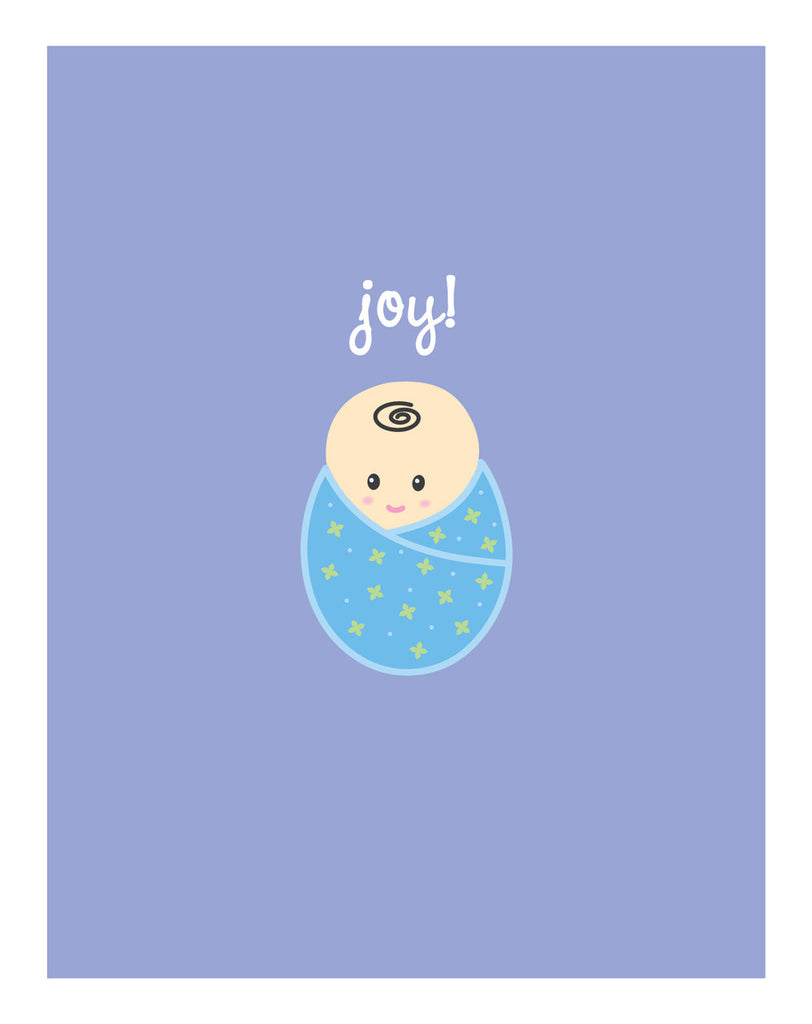 Baby Boy Bundle Card