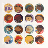 DREAM BIG Sticker Set