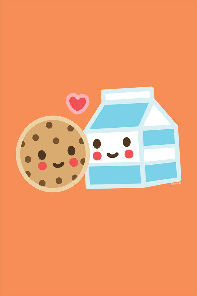 Art Print: Milk & Cookie