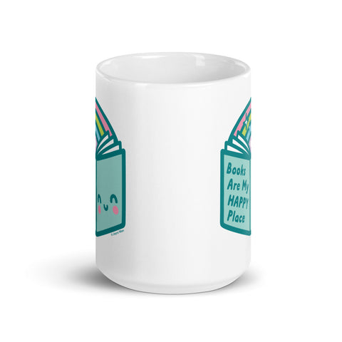 Books Are My Happy Place Mug (2 sizes)