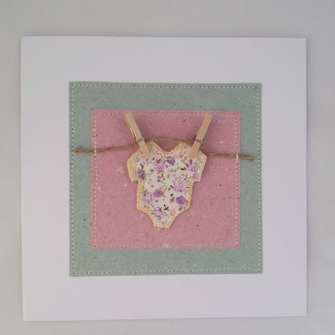 Celebration Handmade Cards: Baby Grow - annie morris