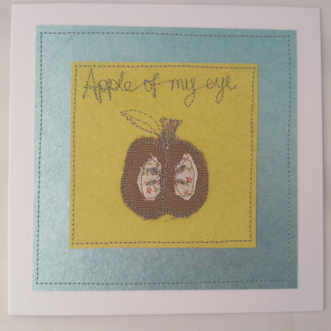 Handmade Cards: Apple of my Eye - annie morris