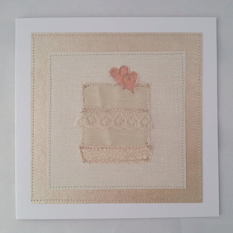 Handmade Cards: Wedding Cake - annie morris