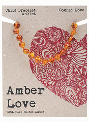 CLEARANCE - Amber Love - Children's Bracelet / Anklet