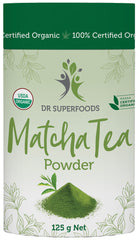 Dr Superfoods - Certified Organic Matcha Tea Powder (Ceremonial Grade)