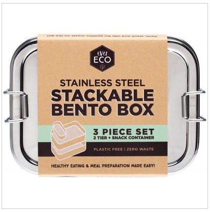 Ever Eco - Stainless Steel Stackable Bento Boxes