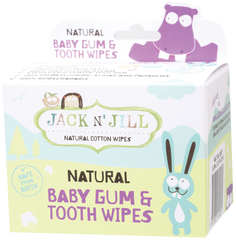 Jack N Jill - Baby Gum & Tooth Wipes