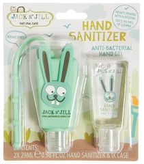 Jack N Jill - 2 x 29ml Hand Sanitizer + Holder