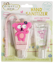 CLEARANCE - Jack N Jill - 2 x 29ml Hand Sanitizer + Holder