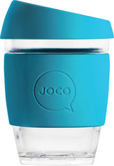 CLEARANCE - Joco Reusable Glass Cups - 12oz (Regular 354ml)